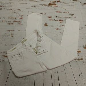 Lucky Brand Lolita skinny white jeans (203)